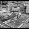 Building truck bodies, Southern California, 1932