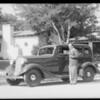 Rubinoff & new La Foyette, Southern California, 1934