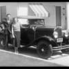 Group etc. at Pasadena, CA, 1932