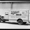Weber's Bread truck, Southern California, 1933