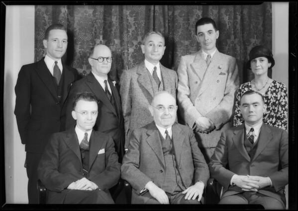 School savings committee, Southern California, 1932