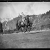 Horseback riding in Bel-Air, Los Angeles, CA, 1932