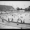 Opening of Olympic pool for children, Los Angeles, CA, 1933