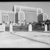 County Hospital, exterior of gate, Los Angeles, CA, 1931