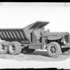 Dump truck, Southern California, 1931