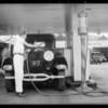 Cleanator pumps, Southern California, 1931