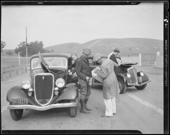 More action, Ascot, Union Oil, Southern California, 1933