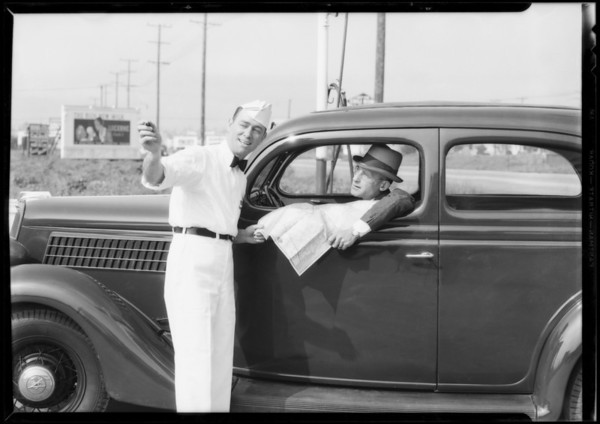 Extra negatives, Standard Oil Co., Southern California, 1935