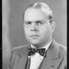 Portrait of Mr. Princkman, Southern California, 1931