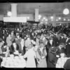 Crowd on main floor, Southern California, 1933