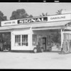 Service station, 1535 North Western Avenue, Los Angeles, CA, 1935