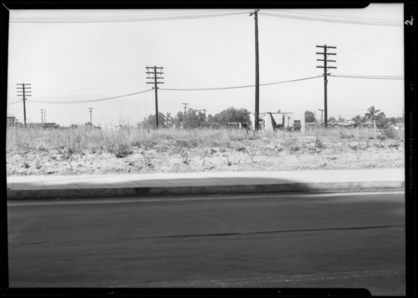 Intersection, 9th Street [East Olympic Boulevard] & South Soto Street, Los Angeles, CA, 1933