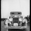 Wrecked Stutz - H. S. Krutzen, owner and assured, Southern California, 1935