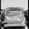 Rear view Buick sedan, Southern California, 1931