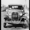 Ford coupe, Mrs. Haywood, 2028 South Palm Grove Avenue, Los Angeles, CA, 1933