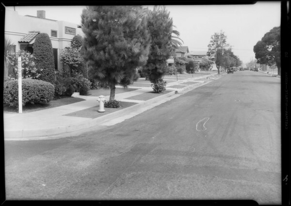 Additional views of intersection, West 21st Street & 6th Avenue, Los Angeles, CA, 1933
