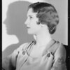 Portrait of Narnella Smith, Southern California, 1933