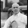 Mr. Sears - tennis player endorses Shell gas, Southern California, 1933