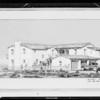 Copy of drawing of Payne residence, Malibu, Southern California, 1931