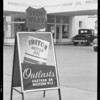 "Station banners, etc., for ""Triton"", Southern California, 1934"