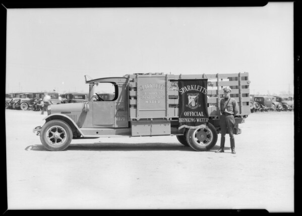 Truck at National Air Races, Southern California, 1933