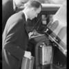 Hi-octane test in Rockne, Southern California, 1933