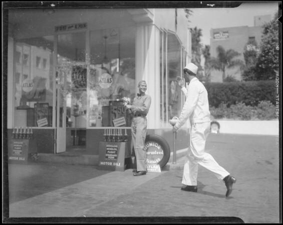Vis-O-Matic slides, reel 4, Southern California, 1935