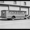 Placentia Union bus, Southern California, 1931