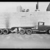 Ford trailer at Hetzel Brothers, 1972 South Los Angeles Street, Los Angeles, CA, 1931