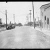 Intersection of East Harvard Street and South Glendale Avenue, Glendale, CA, 1931