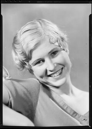 Alice Pickering, Southern California, 1933