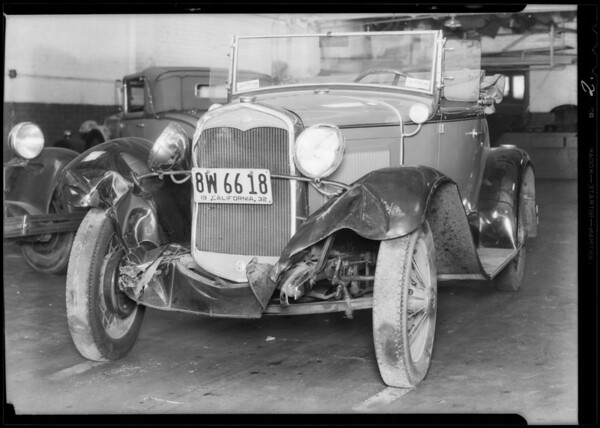 Ford roadster, owner Led Winsel, Los Angeles, CA, 1932