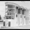 Station, Union Oil Co., Crescent Drive and Burton Way, Beverly Hills, CA, 1934