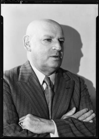 Portraits of Mr. Sam Green, Southern California, 1931