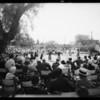 Olympic pool ceremonies, Exposition Park, Los Angeles, CA, 1931