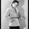 Retake of fur coat, Southern California, 1931