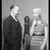 John P. Medbury and dumb dame, Southern California, 1932