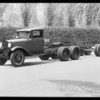 Ford tractor type truck and trailer, Southern California, 1931
