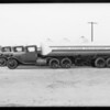Union Motor Transport Company trucks, Southern California, 1931