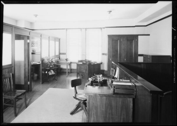 Offices of J. Walter Thompson, Southern California, 1931