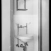 Plumbing at County Hospital, Howe Bros., Los Angeles, CA, 1932