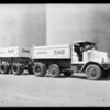 Dump truck and trailer, Southern California, 1931