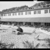 Beach club, Southern California, 1933