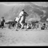 Sports on the sand, Bel-Air Bay Club, Los Angeles, CA 1932