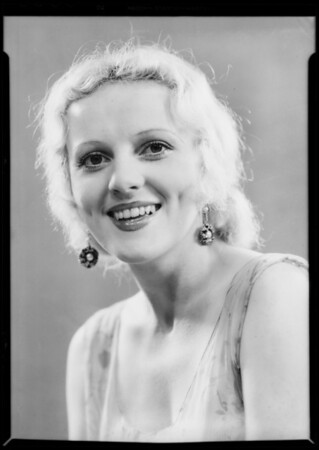Miss Kroy, Southern California, 1932