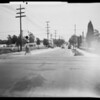 Intersection, East California Boulevard and South Broadway [South Arroyo Parkway], Pasadena, CA, 1932