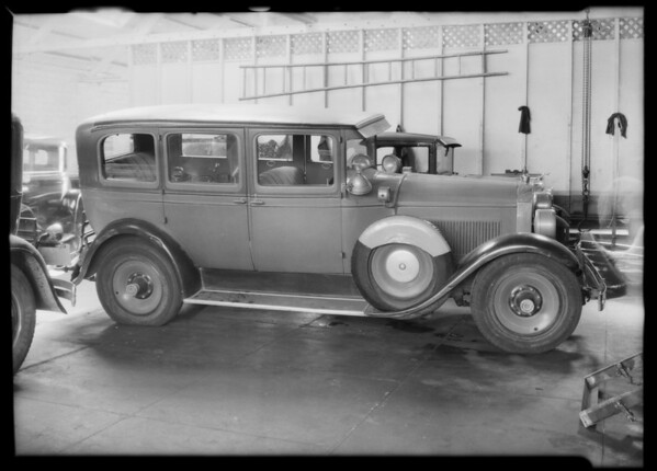 Packard sedan, Raymond Atcheson - owner, Southern California, 1932