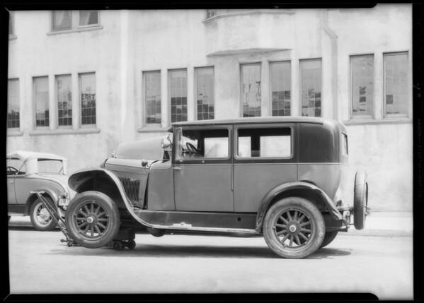 Essex sedan, Southern California, 1932