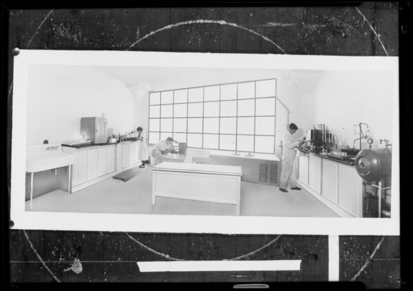 Views of plant, Lucerne Creamery, Southern California, 1931