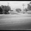 Intersection of Foothill Boulevard and North Baldwin Avenue, Arcadia, CA, 1934